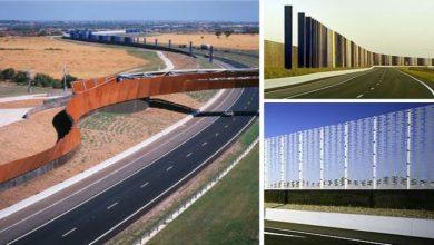 Photo of Sound Walls on Freeways – Sound Walls Highway
