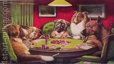 Photo of Dogs Playing Poker- Cassius Marcellus Coolidge Masterpiece