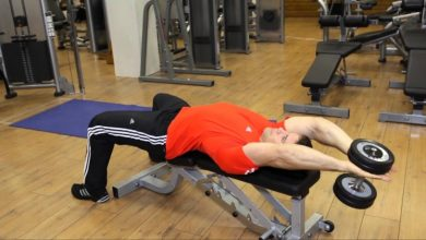 Photo of How to do dumbbell pullover