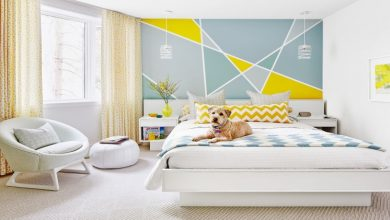 Photo of How to design your walls with colors and patterns